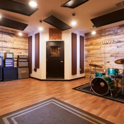interior of recording studio