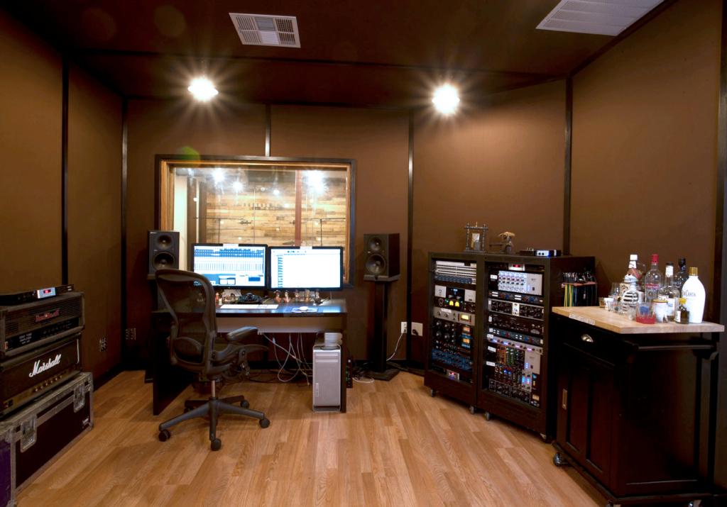interior of engineering room